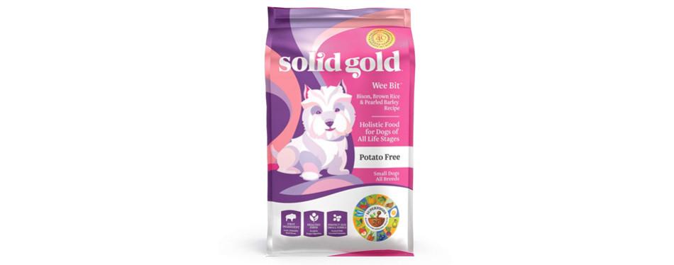 solid gold wee bit holistic dry dog food