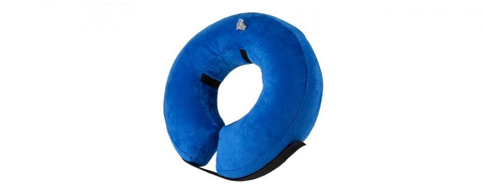 sunpangpang protective inflatable dog cone collar