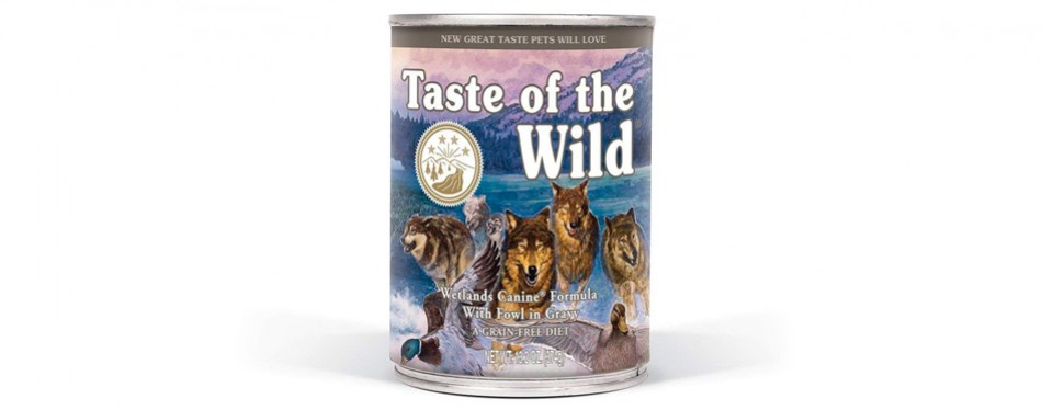 taste of the wild grain-free wet dog food