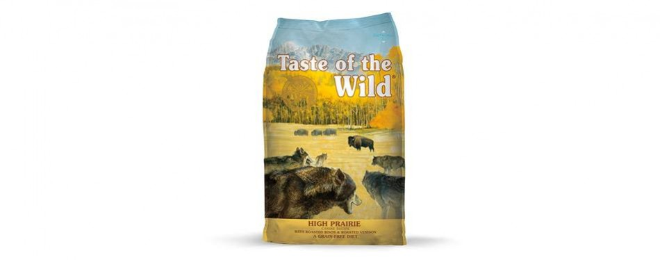 taste of the wild high prairie canine recipe