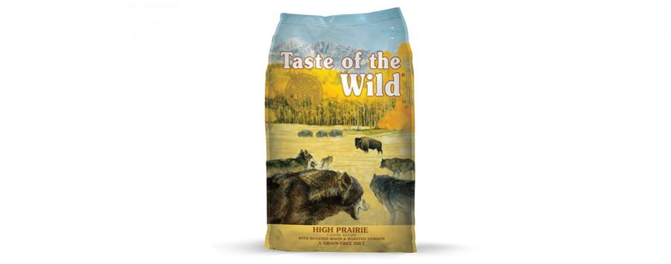 taste of the wild high protein dog food