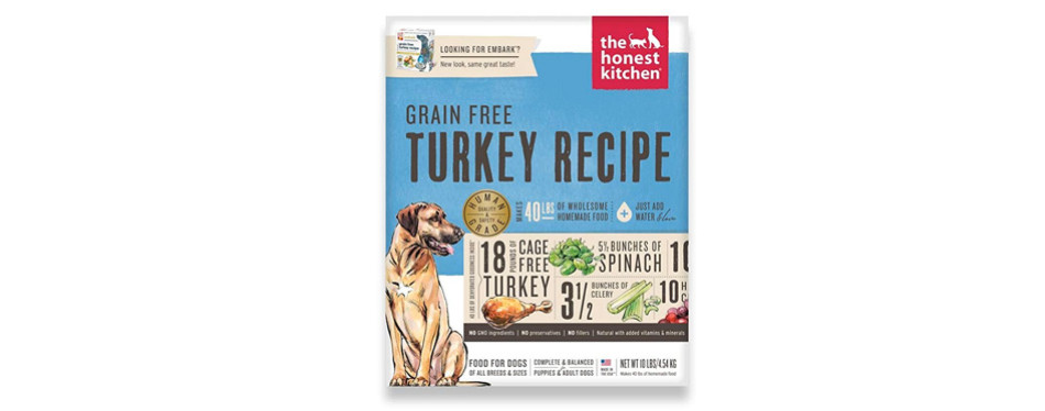 the honest kitchen human grade low sodium dog food