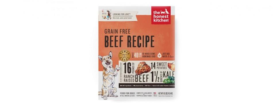 the honest kitchen organic dog food