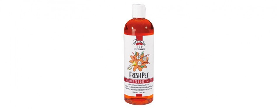 top performance fresh cat shampoo