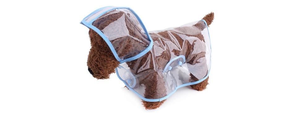 topsung dog raincoat