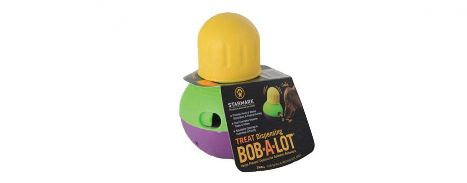 treat dispensing bob a lot