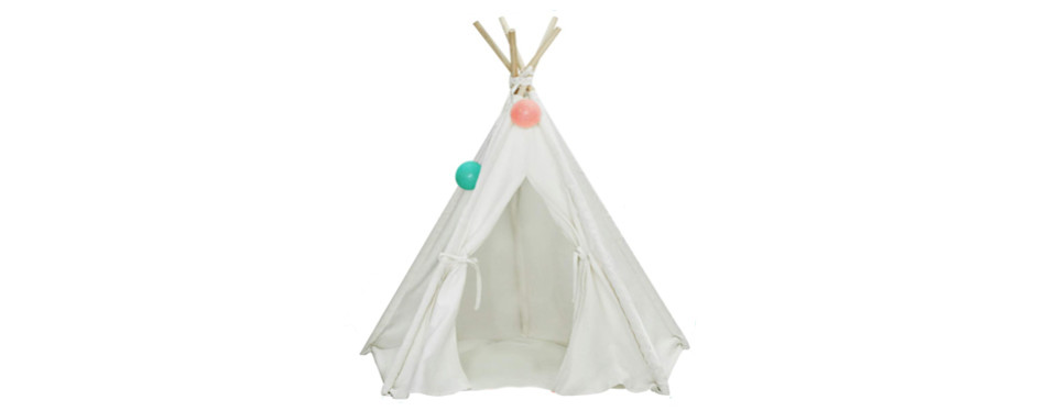 ukadou teepee dog bed