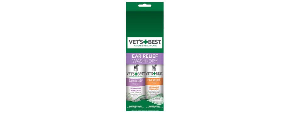 vet's best dog ear cleaner kit