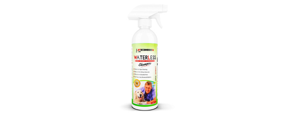 vet recommended waterless dry shampoo for dogs