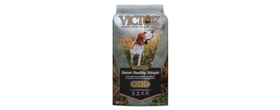 victor senior healthy weight loss dog food