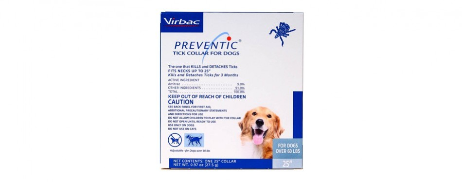virbac preventic flea collar for dogs