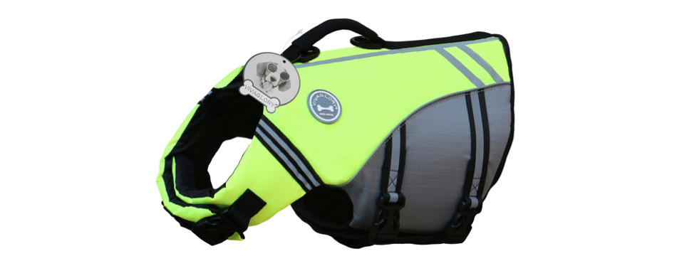 vivaglory sports style dog life jacket