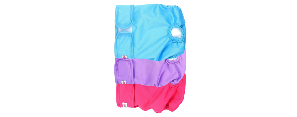 wegreeco washable female dog diapers