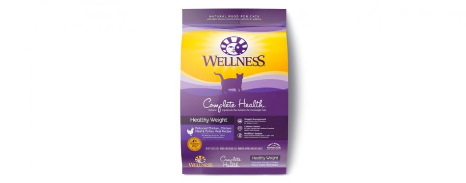 wellness complete health natural cat food for weight loss