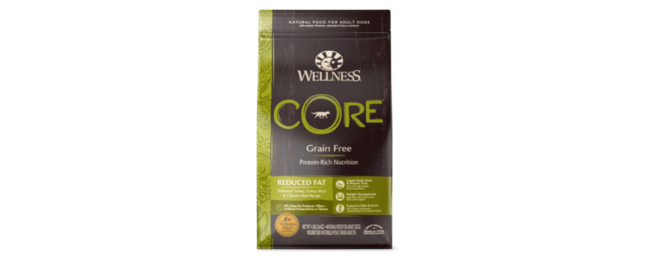 wellness core dog food for weight loss