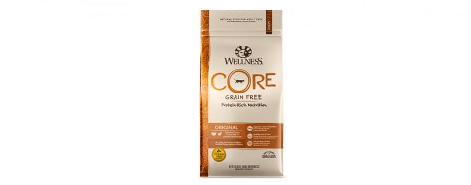 wellness core dry cat food