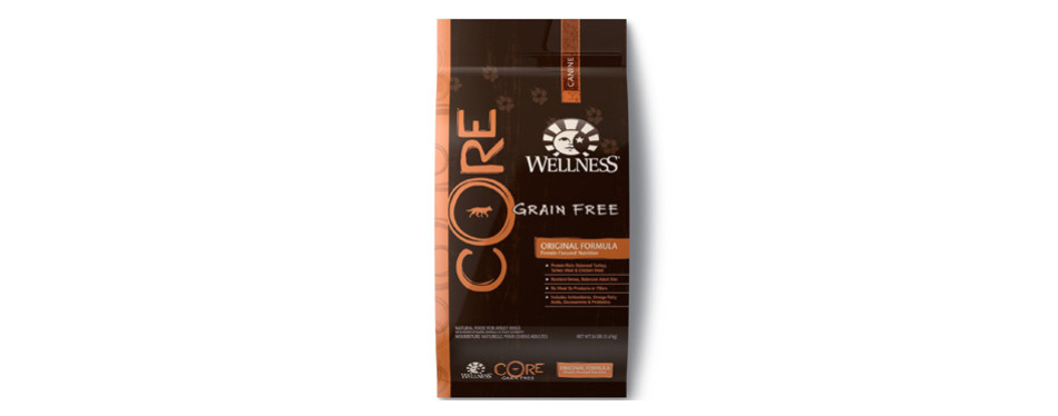 wellness core grain free food