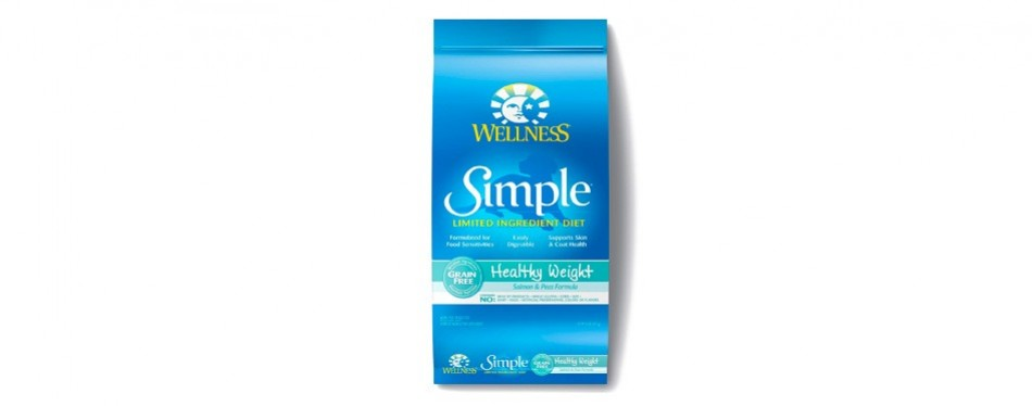 wellness simple limited ingredient dog food healthy weight