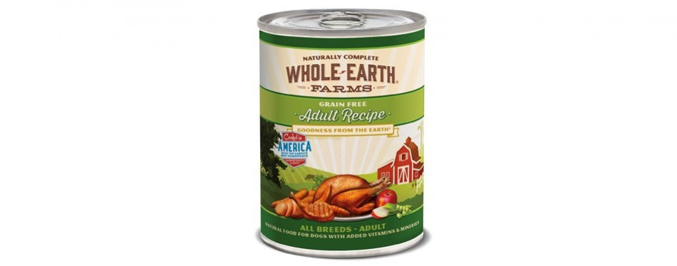 whole earth farms grain-free wet dog food