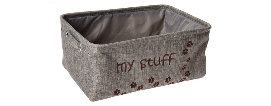 winifred and lily pet toy bin