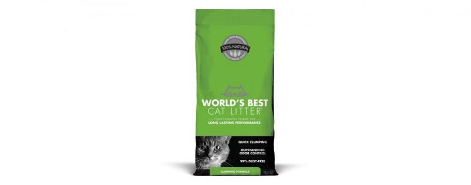 world's best cat litter clumping formula