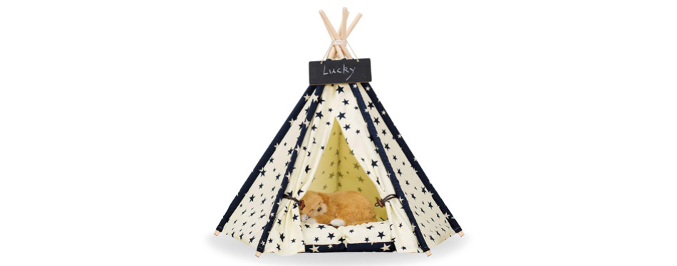 zaihe dog teepee bed