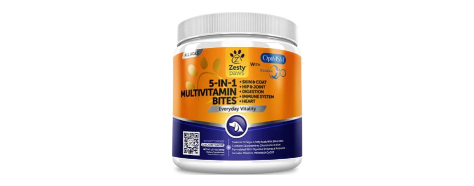 zesty paws dog multivitamins