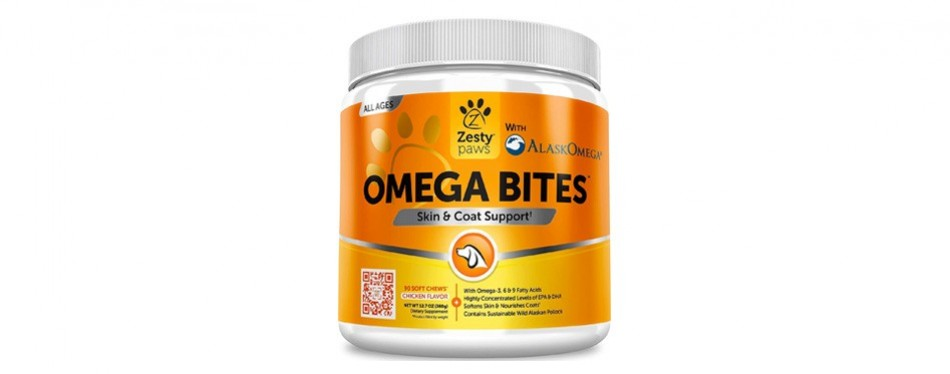zesty paws omega 3 alaskan fish oil for dogs